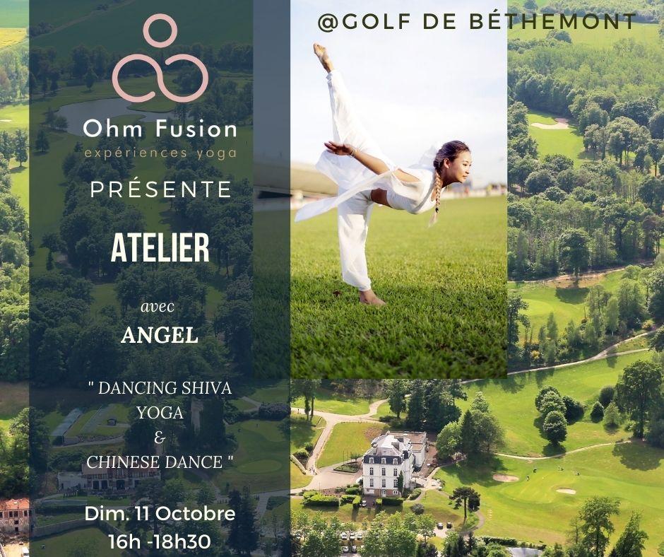 Dim. 11 Octobre 2020 – Atelier – «Dancing Shiva Yoga & Chinese Dance»